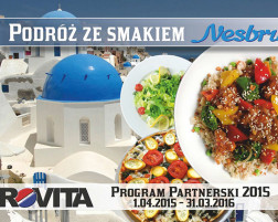 """Program Partnerski """"Podróż ze smakiem 2015"""""""